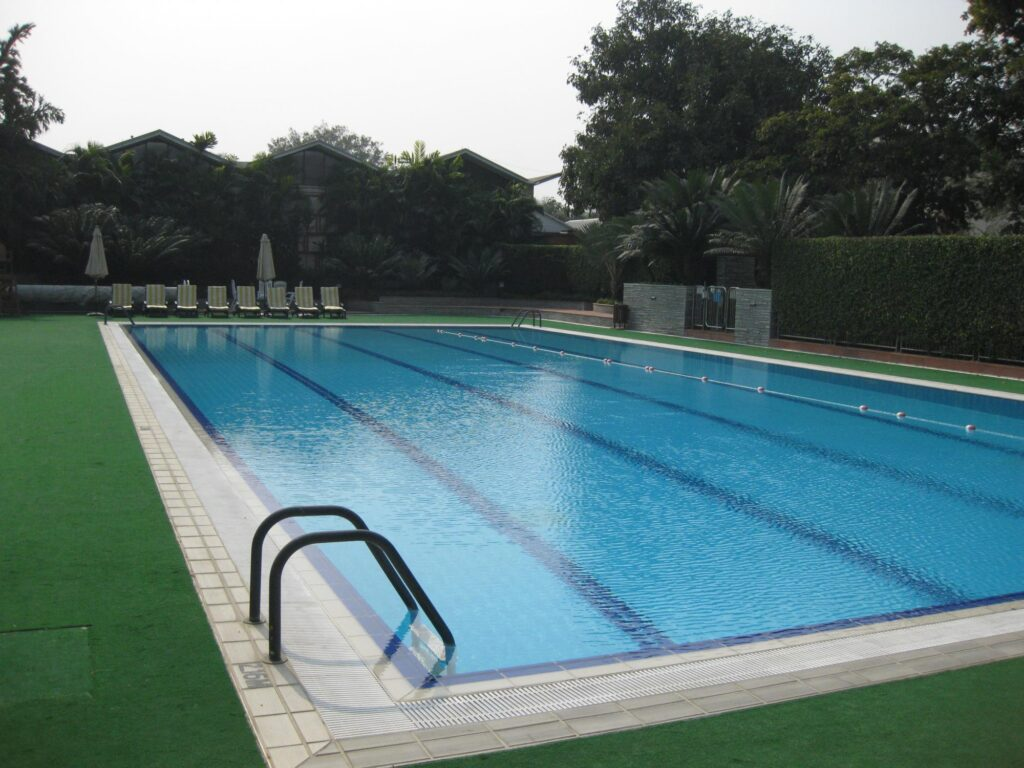 an olympic size pool